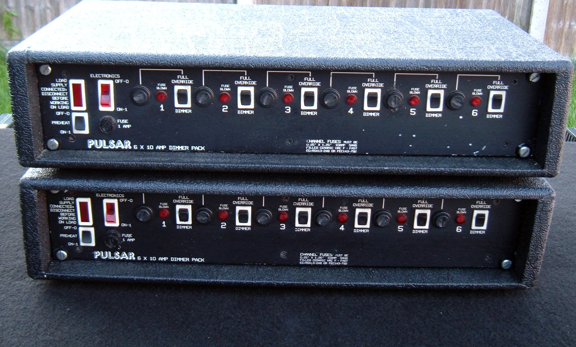 2of Pulsar 6x10A Dimmer Packs